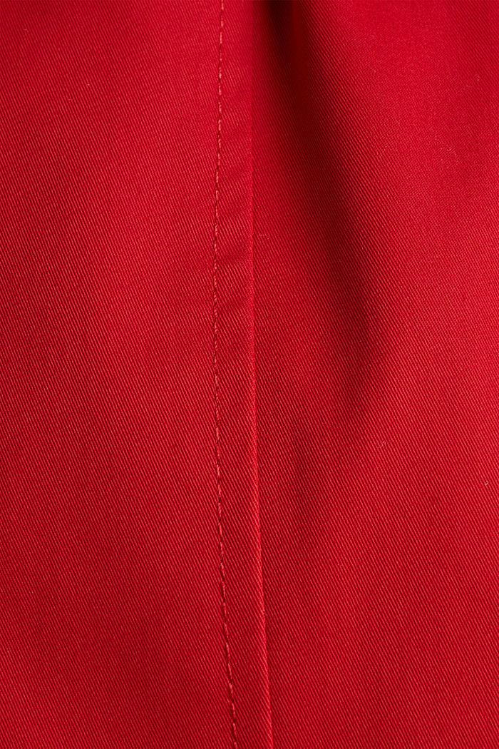 Trenchcoat mit variabler Kapuze, DARK RED, detail image number 4