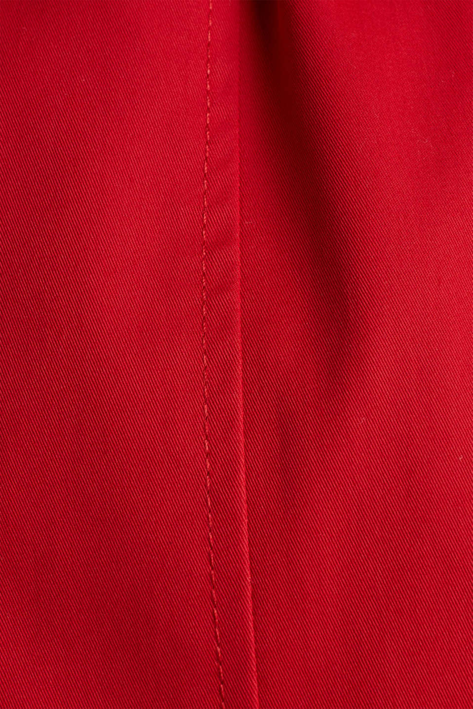 Trench coat with an adjustable hood, DARK RED, detail image number 4