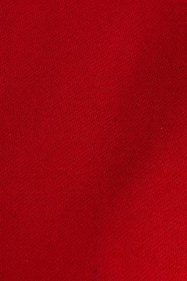 Blazer with an adjustable collar, stretch cotton, DARK RED, detail