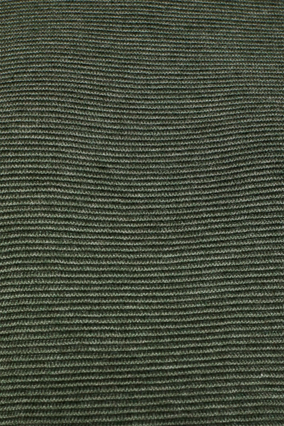 Jumper with a ribbed texture, KHAKI GREEN 5, detail image number 4