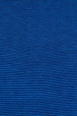 Jumper with a ribbed texture, BRIGHT BLUE, detail