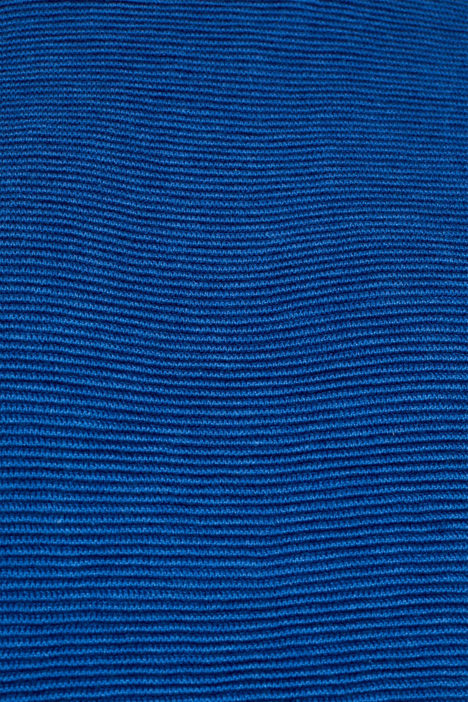 Jumper with a ribbed texture, BRIGHT BLUE, detail image number 4