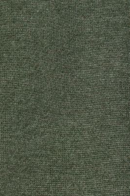 Fine knit cardigan with ribbed trims, KHAKI GREEN 5, detail