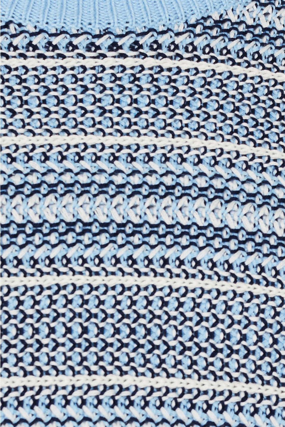 Textured multi-colour jumper, LIGHT BLUE 2, detail image number 4