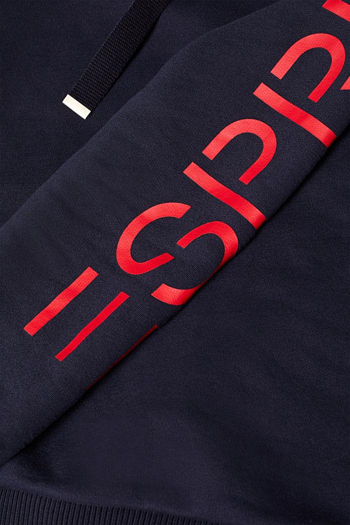 Hoodie mit Logo-Print, NAVY, detail image number 4