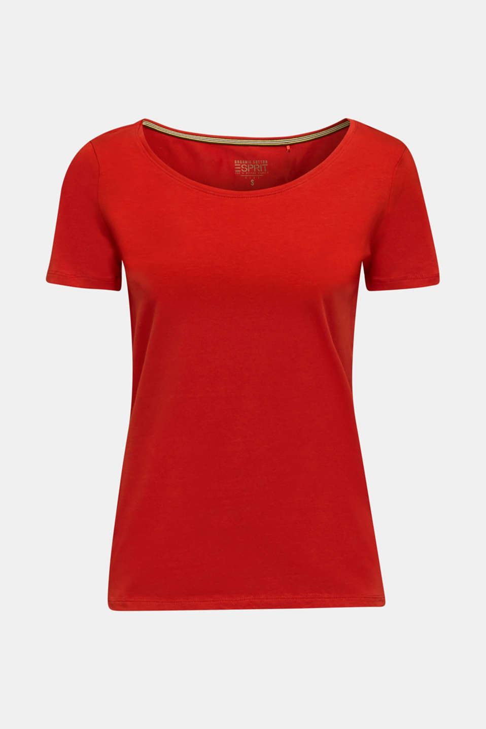 T-Shirts, DARK RED 3, detail image number 4