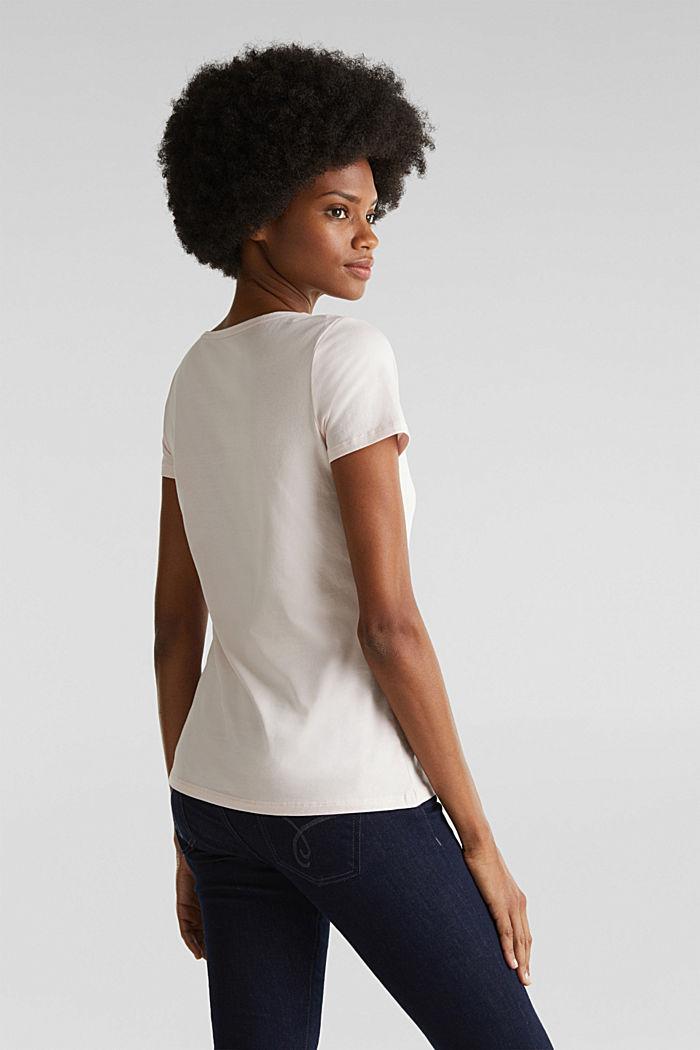 Basic-Shirt mit Stretchkomfort, LIGHT PINK, detail image number 3