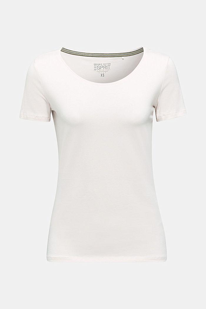 Basic-Shirt mit Stretchkomfort, LIGHT PINK, detail image number 6