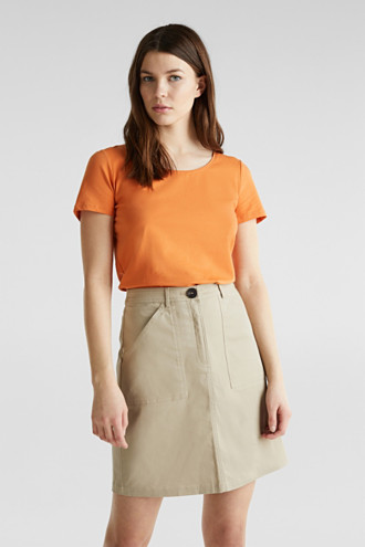 Basic top with stretch for comfort