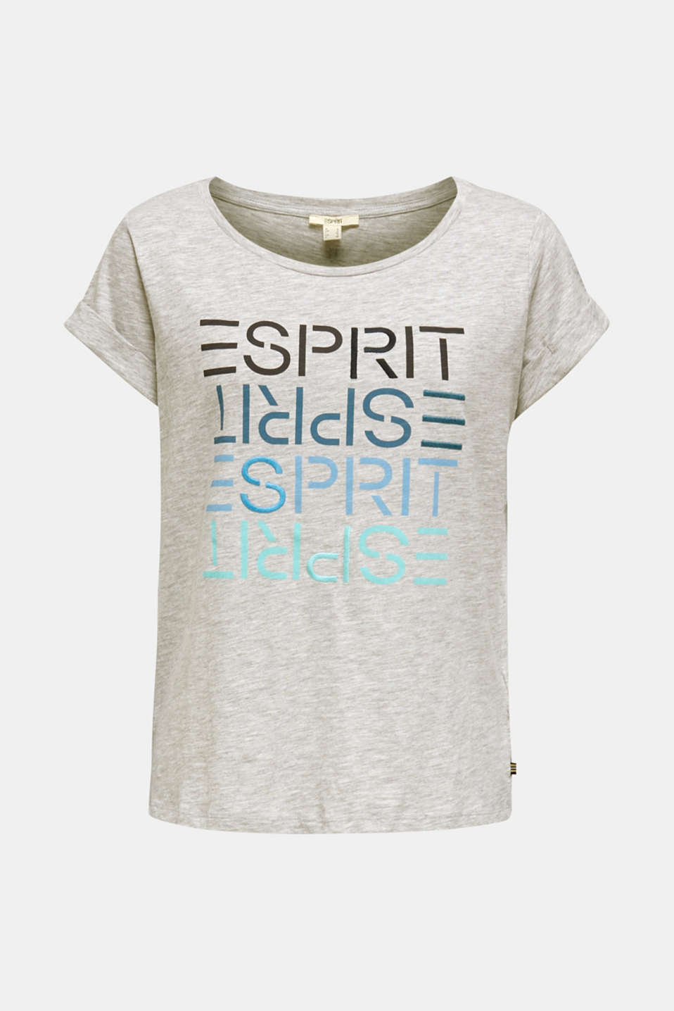 T-Shirts, LIGHT GREY 5, detail image number 7