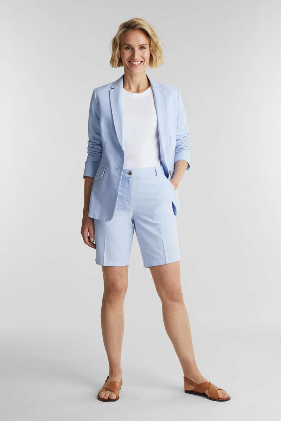 Basic T-shirt, 100% organic cotton, WHITE, detail image number 1