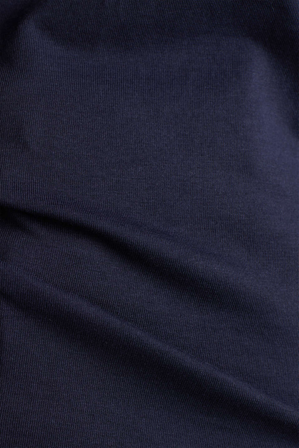 Basic T-shirt, 100% organic cotton, NAVY, detail image number 4