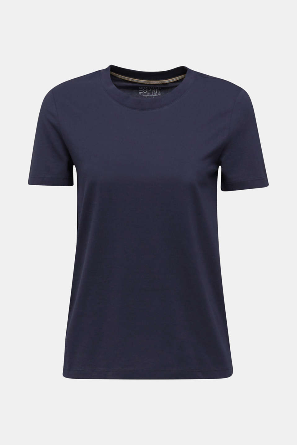 Basic T-shirt, 100% organic cotton, NAVY, detail image number 6