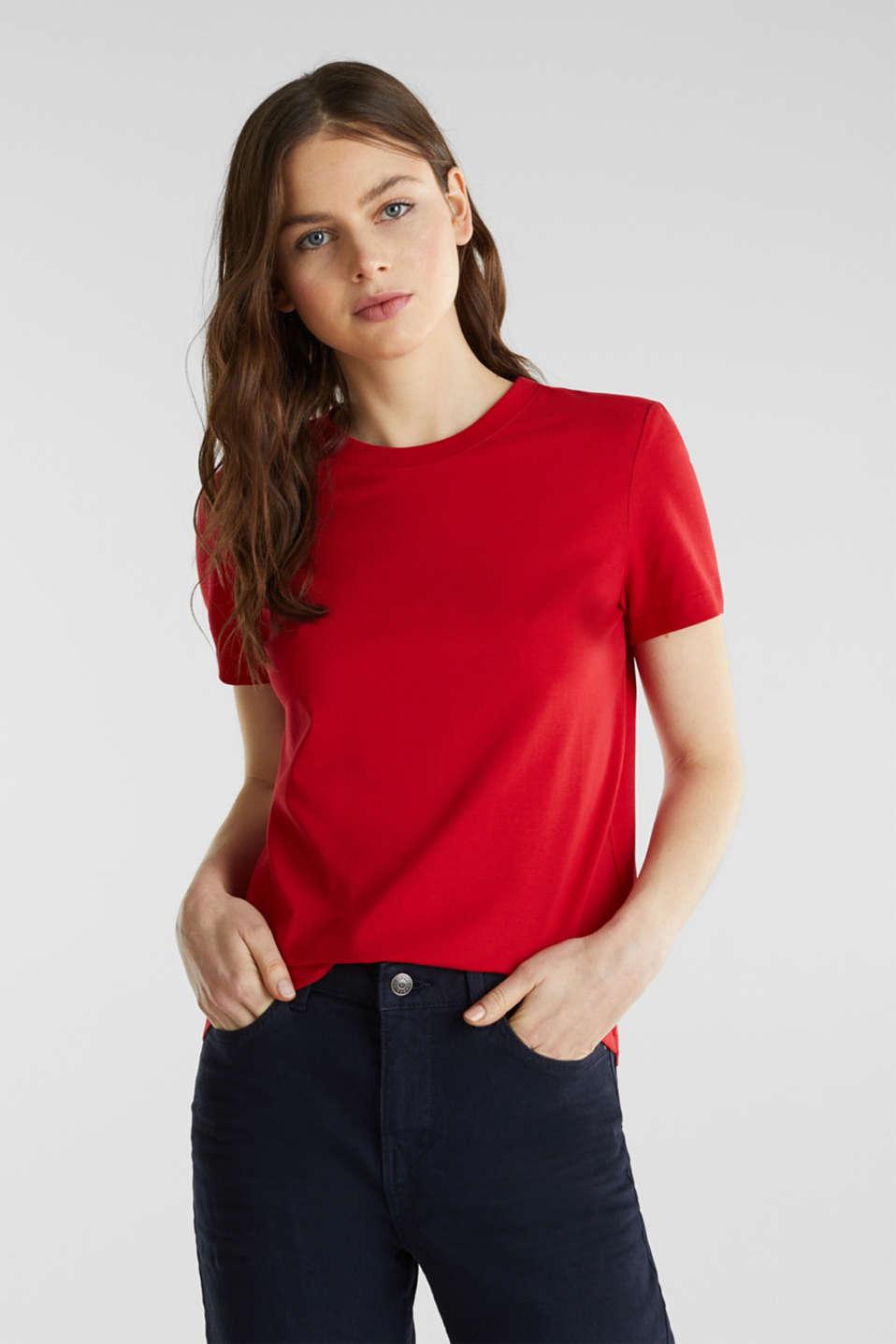 Organic cotton T-shirt, 100% cotton