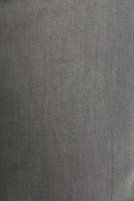 Super stretchy jeans with washed-out effect, GREY LIGHT WASH, detail