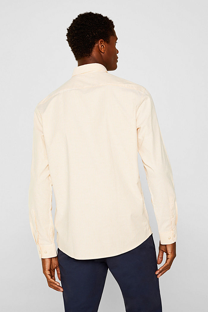 Oxford overhemd van katoen-stretch, HONEY YELLOW, detail image number 2