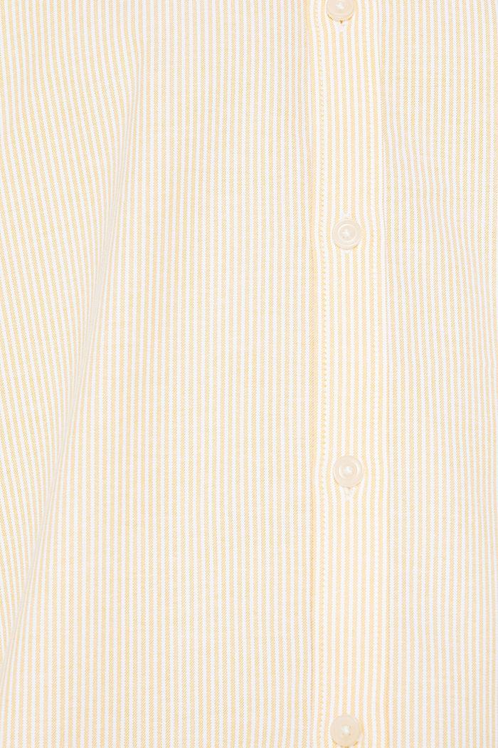 Oxford overhemd van katoen-stretch, HONEY YELLOW, detail image number 3