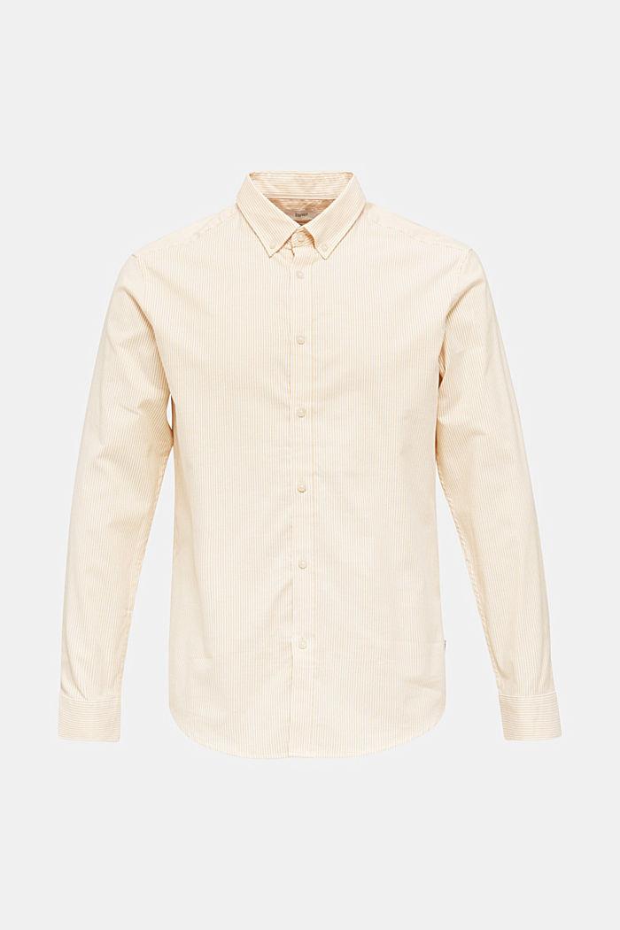Oxford overhemd van katoen-stretch, HONEY YELLOW, detail image number 6