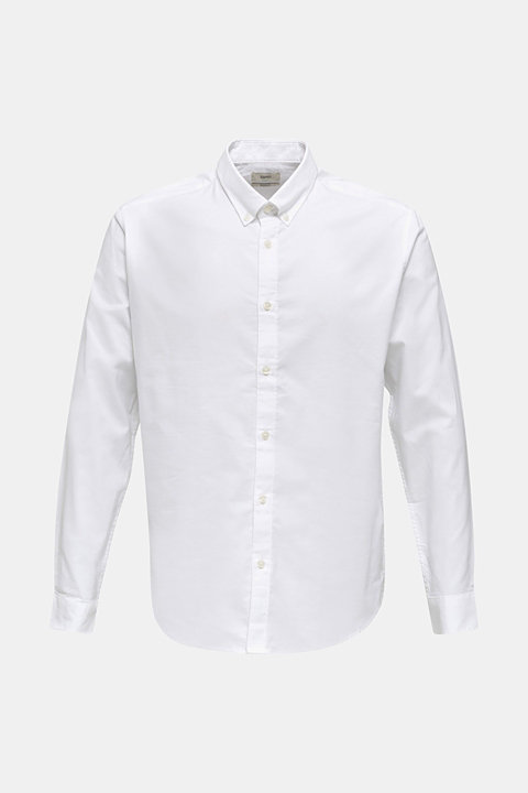 Oxford shirt with a button-down collar