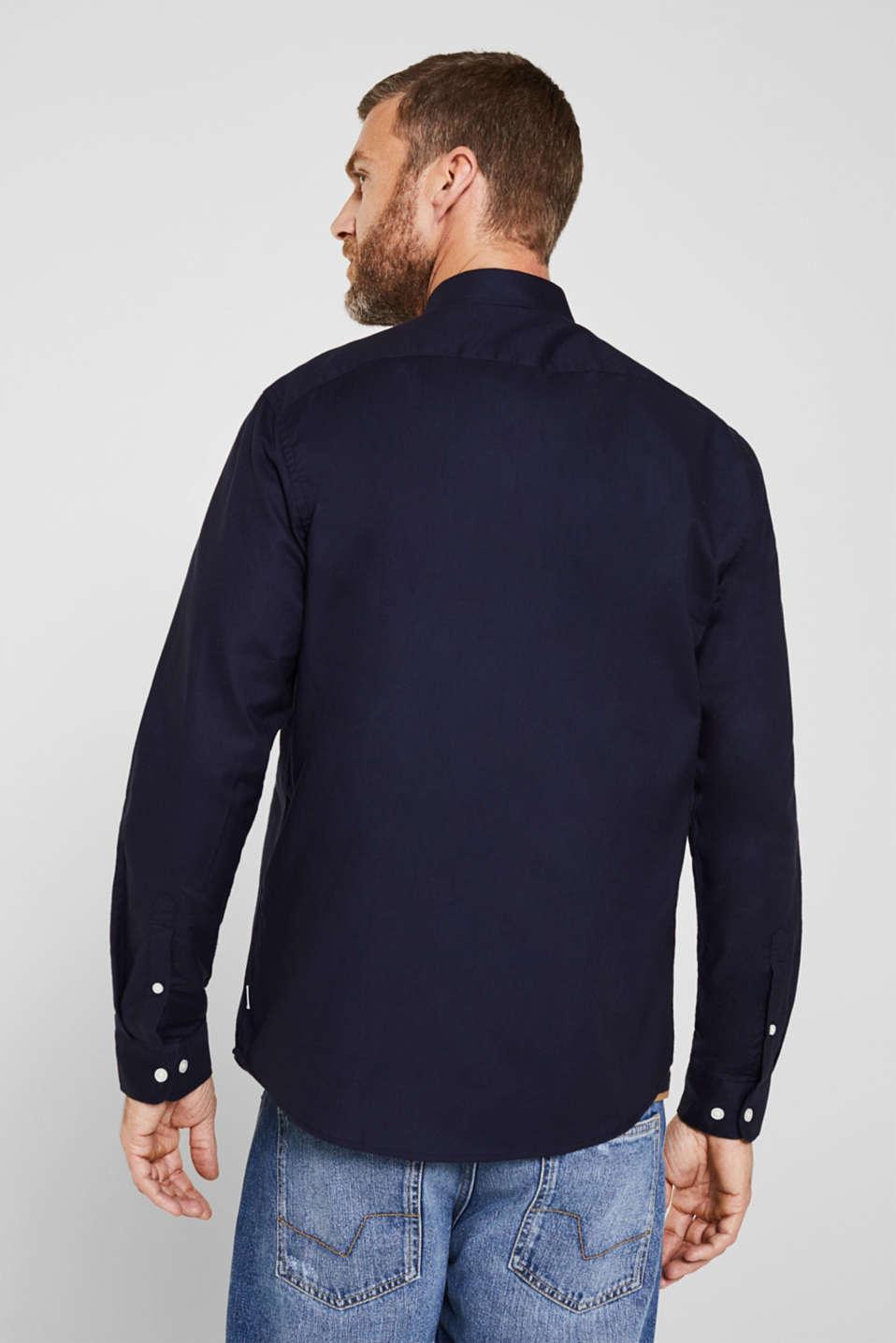 Oxford shirt with a button-down collar, NAVY 5, detail image number 2