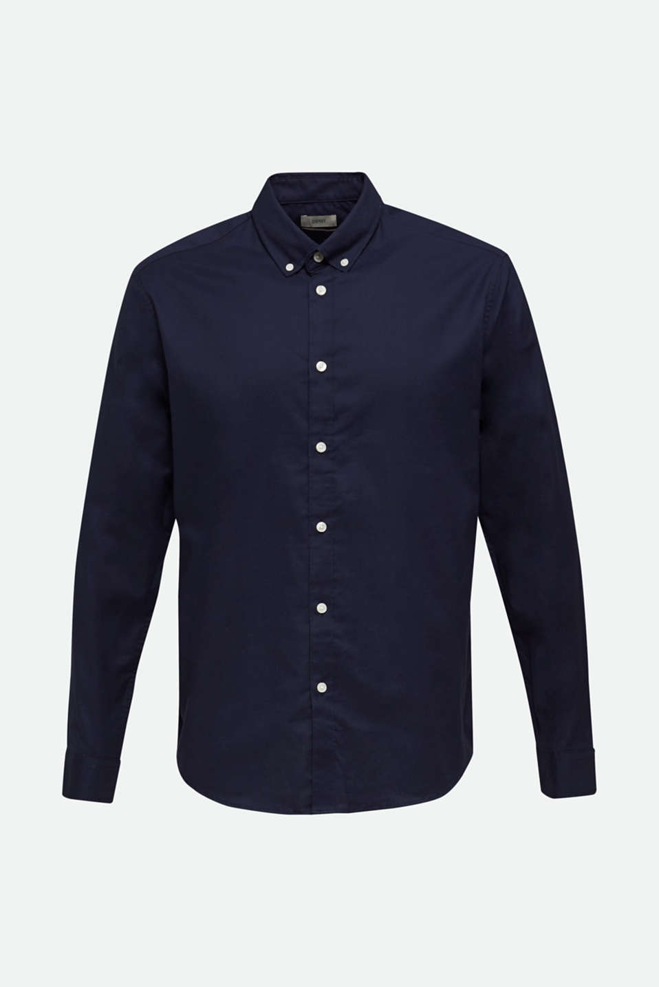 Oxford shirt with a button-down collar, NAVY 5, detail image number 5