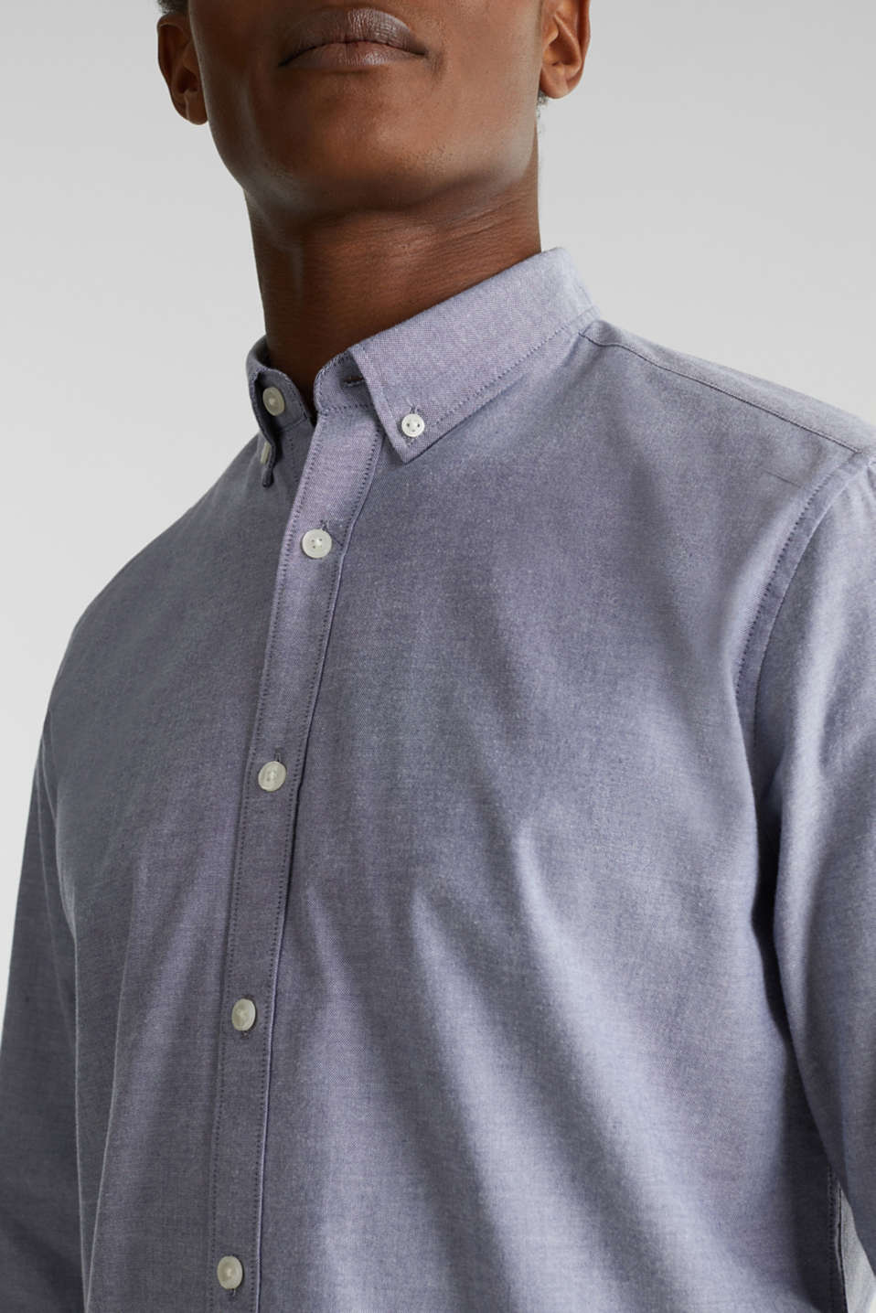 Oxford shirt with a button-down collar, DARK BLUE 5, detail image number 2