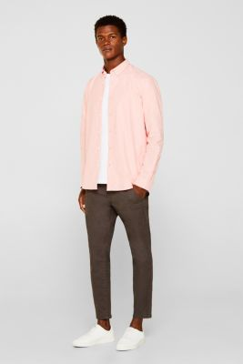Oxford shirt with a button-down collar, CORAL 5, detail