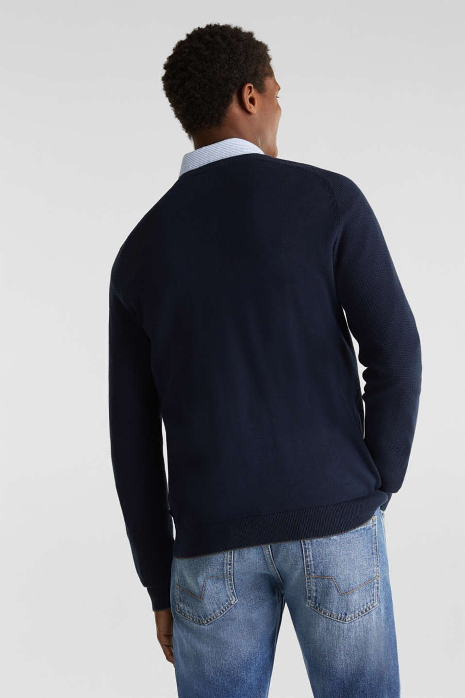 Sweaters, NAVY 2, detail image number 2