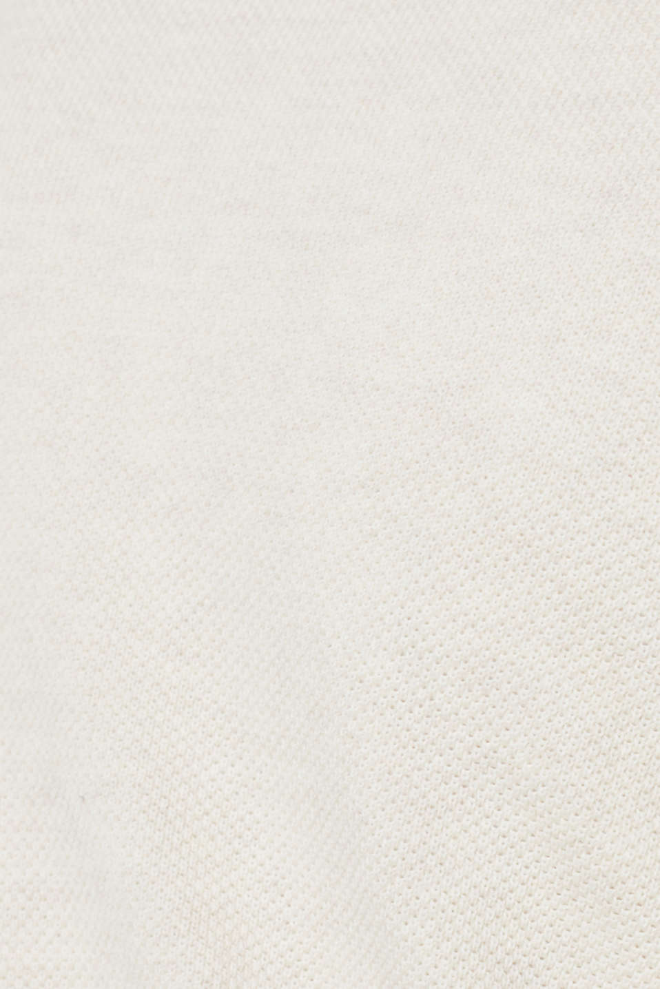 Textured cardigan in 100% cotton, OFF WHITE 5, detail image number 4