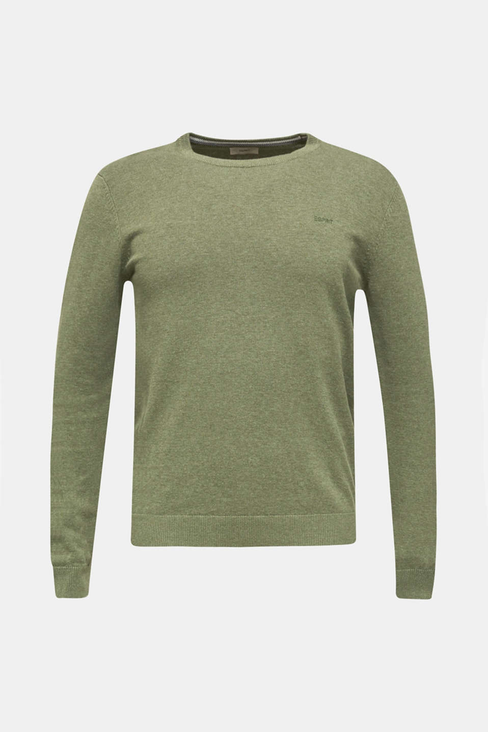 Sweaters, LIGHT KHAKI 5, detail image number 6