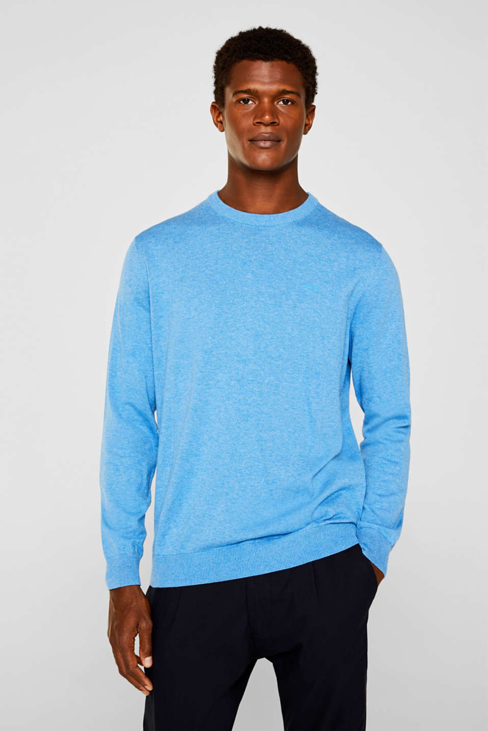 Sweaters, BRIGHT BLUE 5, detail image number 0