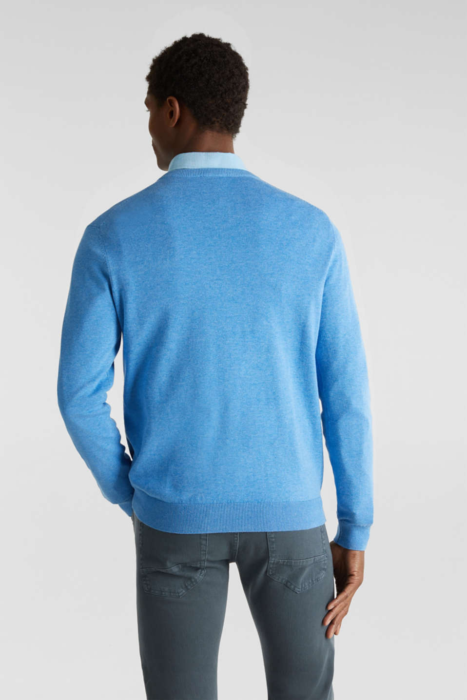 Sweaters, BRIGHT BLUE 5, detail image number 3