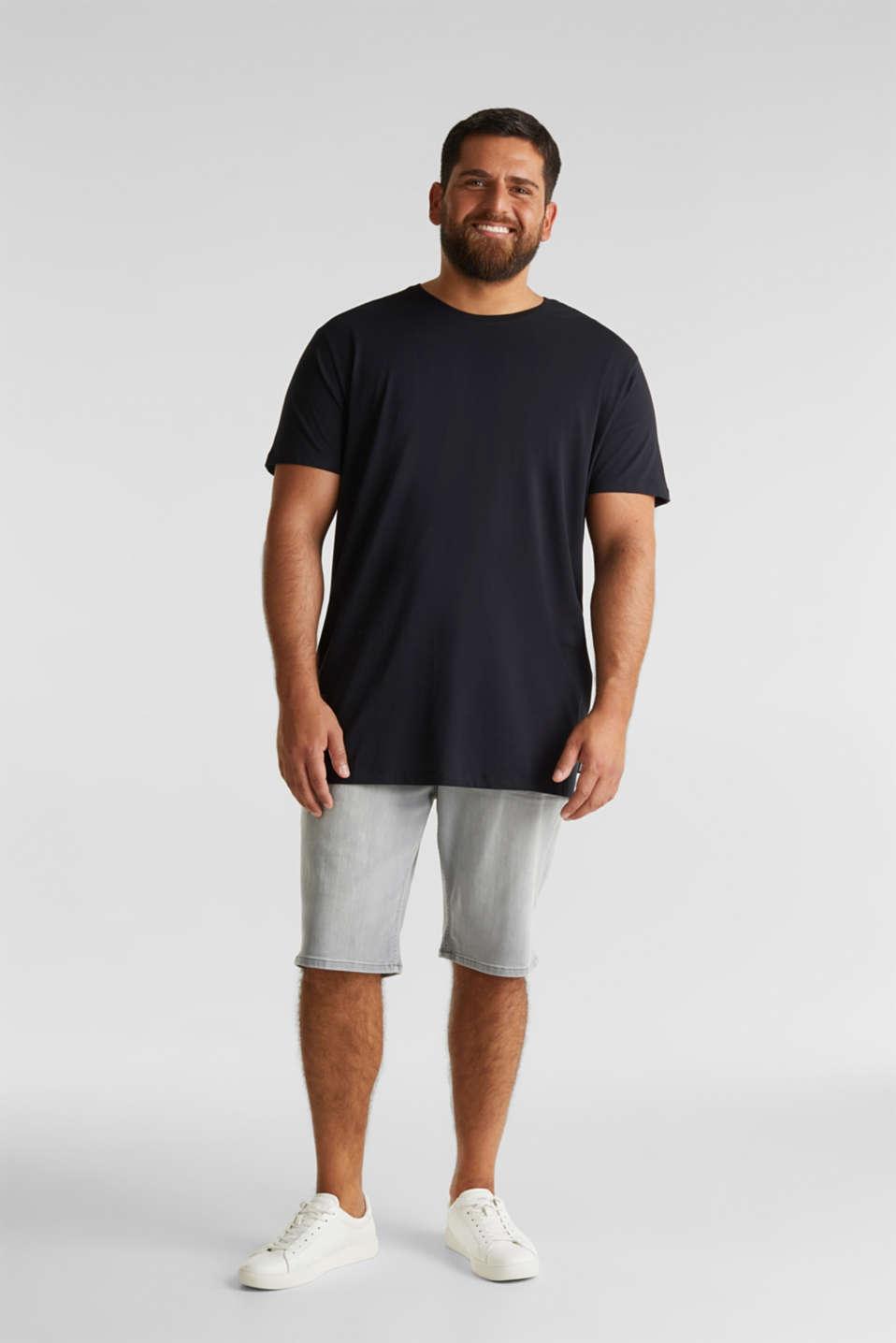 Jersey T-shirt made of 100% organic cotton, BLACK, detail image number 2