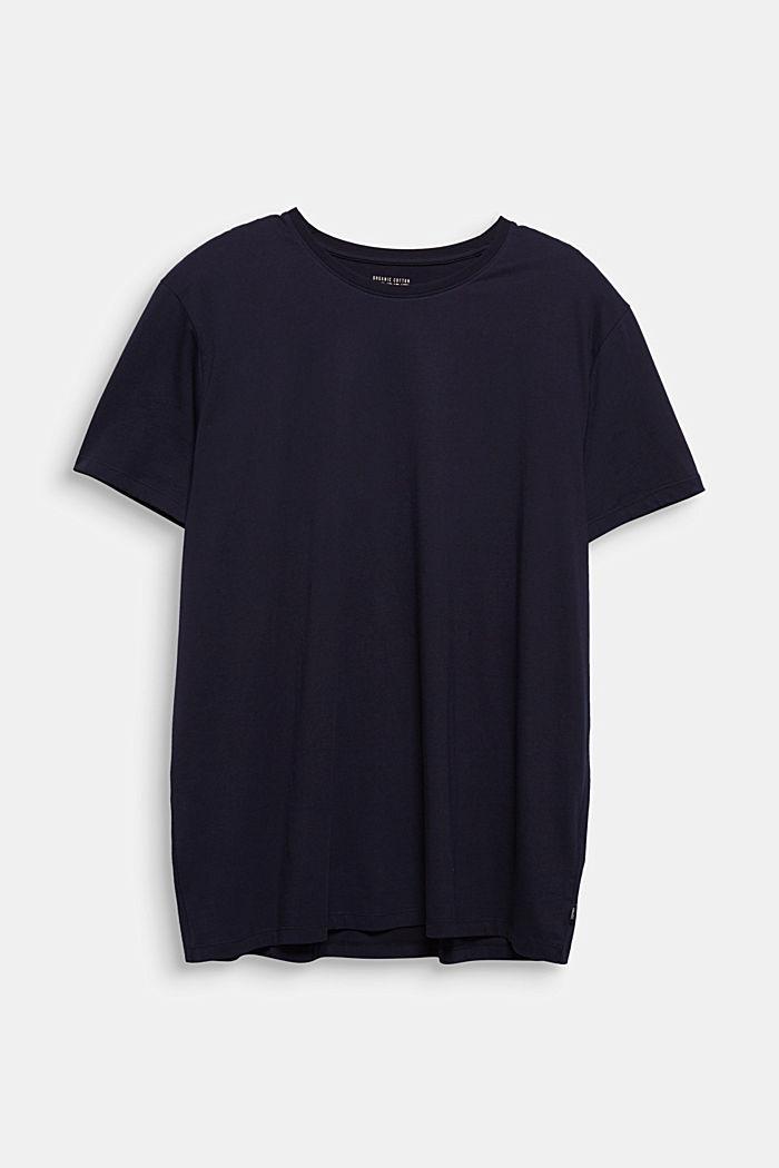 Jersey-T-Shirt aus 100% Bio-Baumwolle, BLACK, detail image number 5