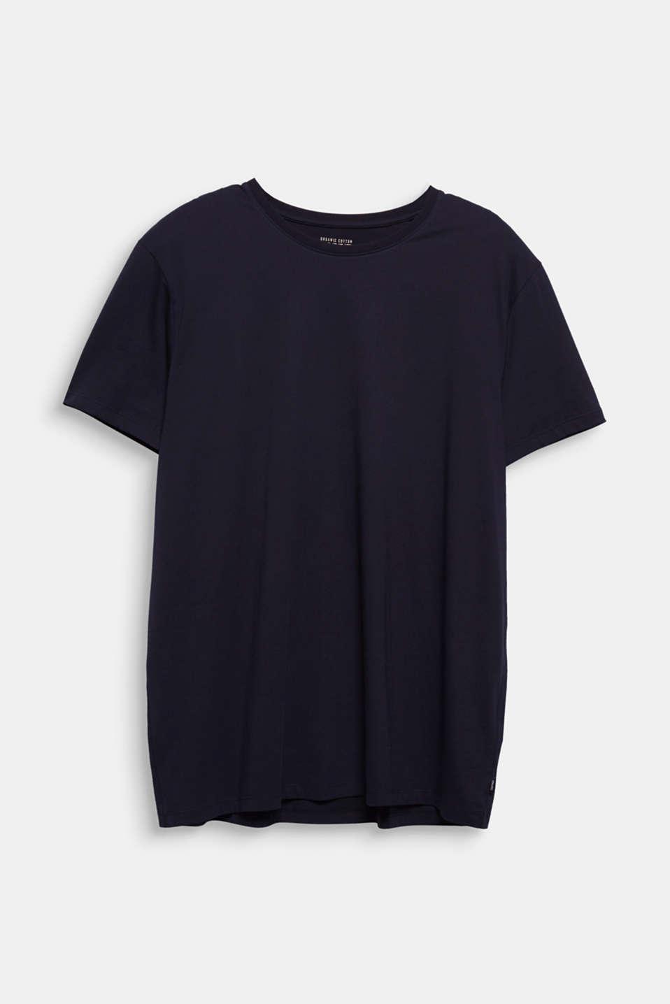 Jersey T-shirt made of 100% organic cotton, BLACK, detail image number 5
