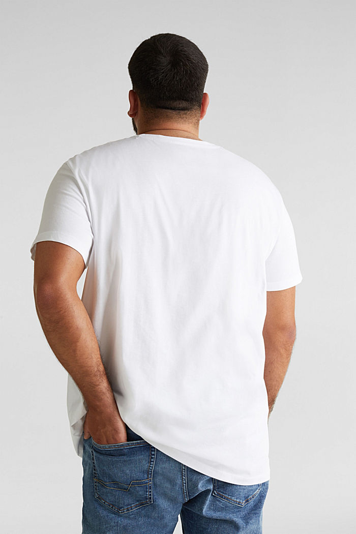 Jersey T-shirt made of 100% organic cotton, WHITE, detail image number 2
