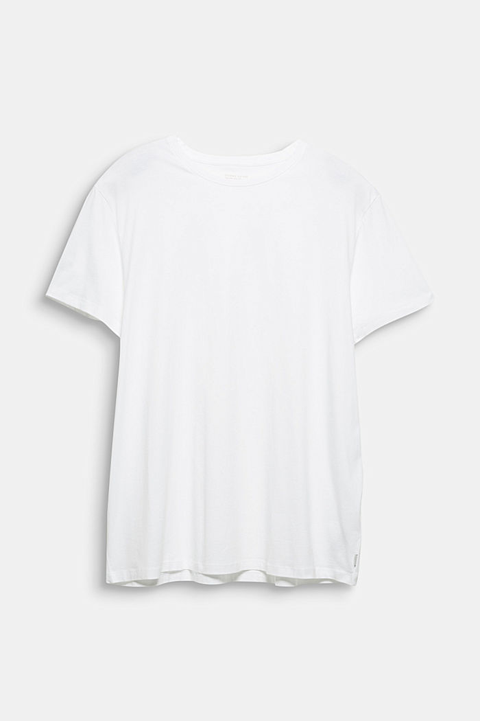 Jersey T-shirt made of 100% organic cotton, WHITE, detail image number 4