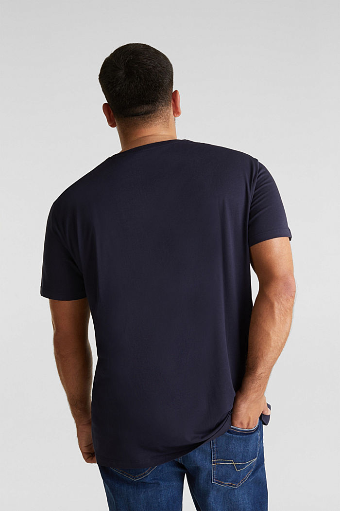 Jersey T-shirt made of 100% organic cotton, NAVY, detail image number 2
