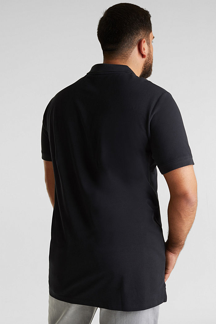 Poloshirt van 100% organic cotton, BLACK, detail image number 3