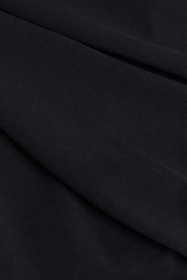 Polo shirt in 100% organic cotton, BLACK, detail