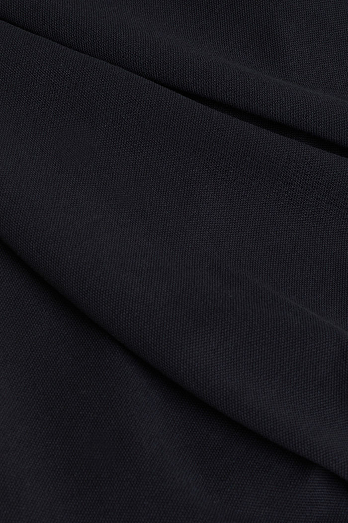 Poloshirt van 100% organic cotton, BLACK, detail image number 4