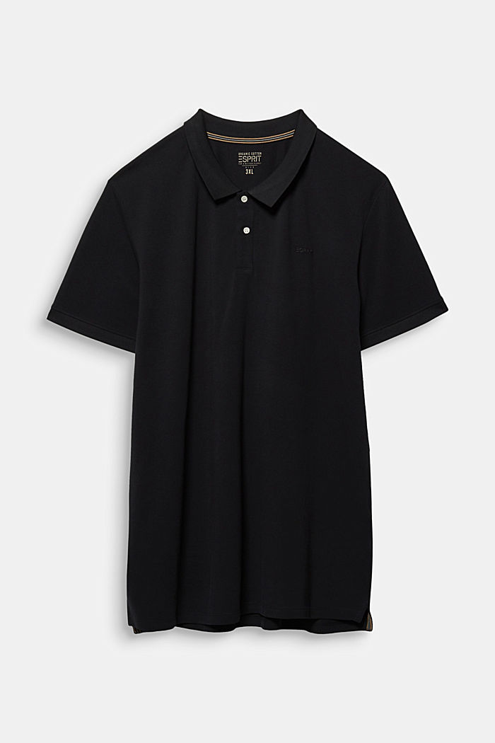 Poloshirt van 100% organic cotton, BLACK, detail image number 6