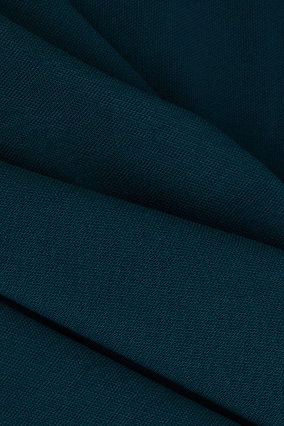 Polo shirt in 100% organic cotton, DARK GREEN, detail image number 4