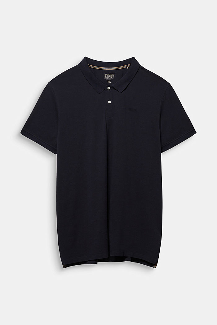 Polo shirt in 100% organic cotton