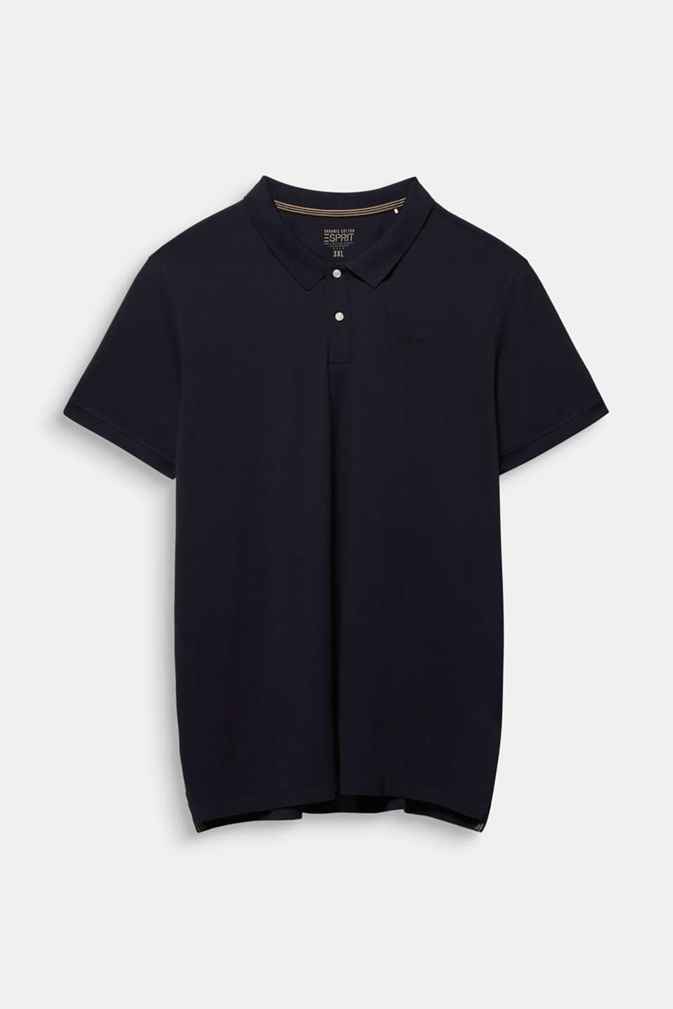 Polo shirt in 100% organic cotton, NAVY, detail image number 5