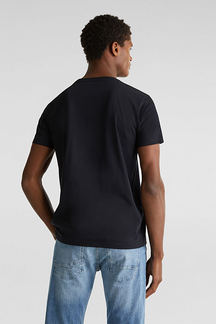 Double pack of jersey cotton tops, BLACK, detail image number 3