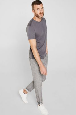 Double pack of jersey cotton tops, DARK GREY, detail
