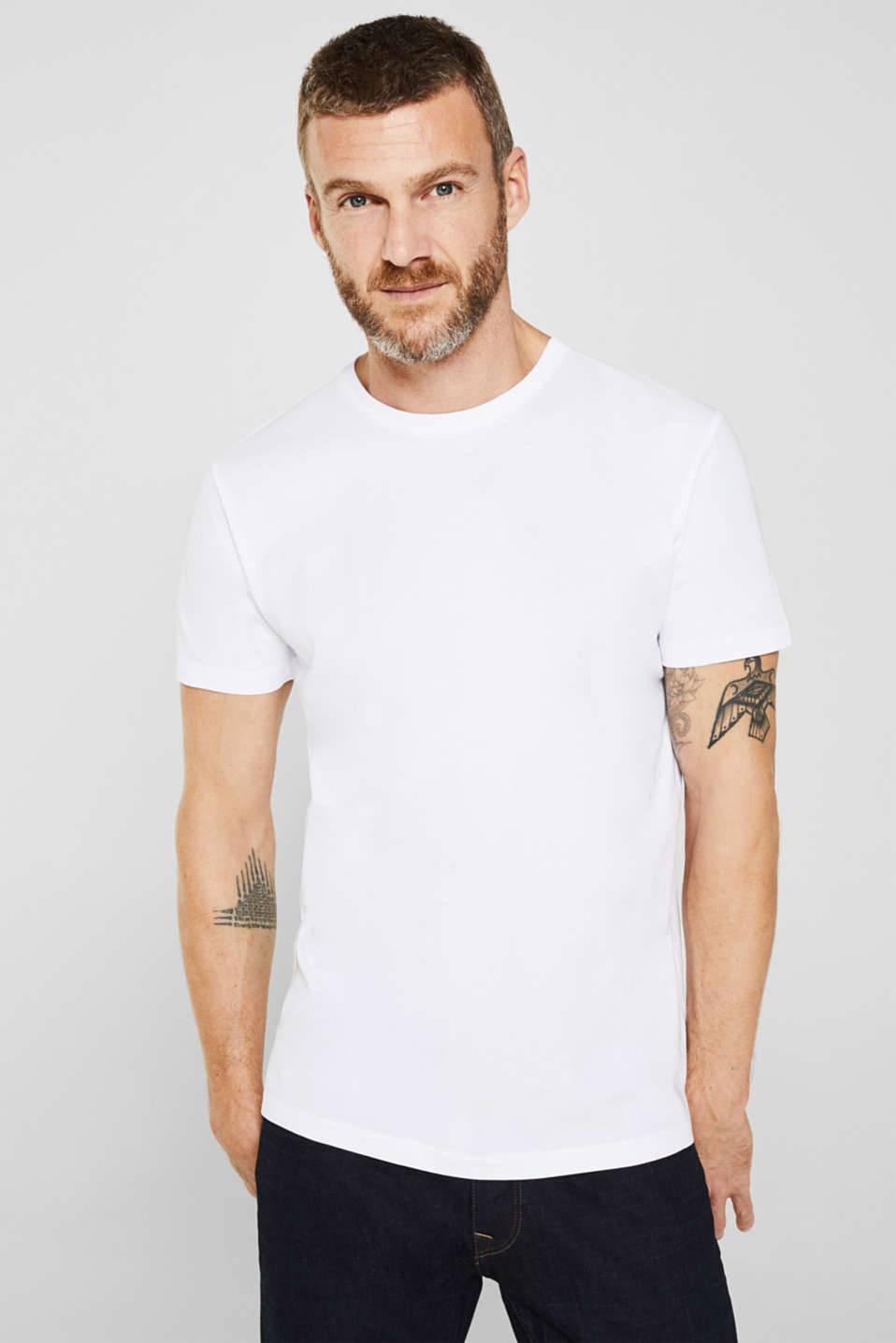 Double pack of jersey T-shirts in 100% cotton