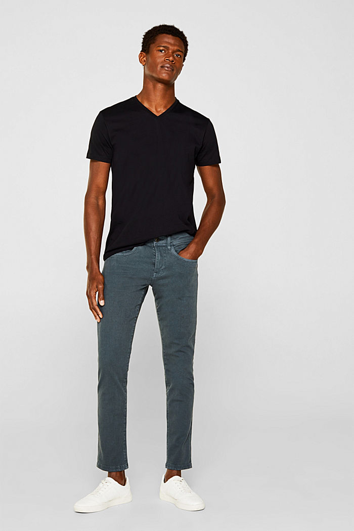 2er-Pack Jersey-Shirt aus 100% Baumwolle, BLACK, detail image number 3