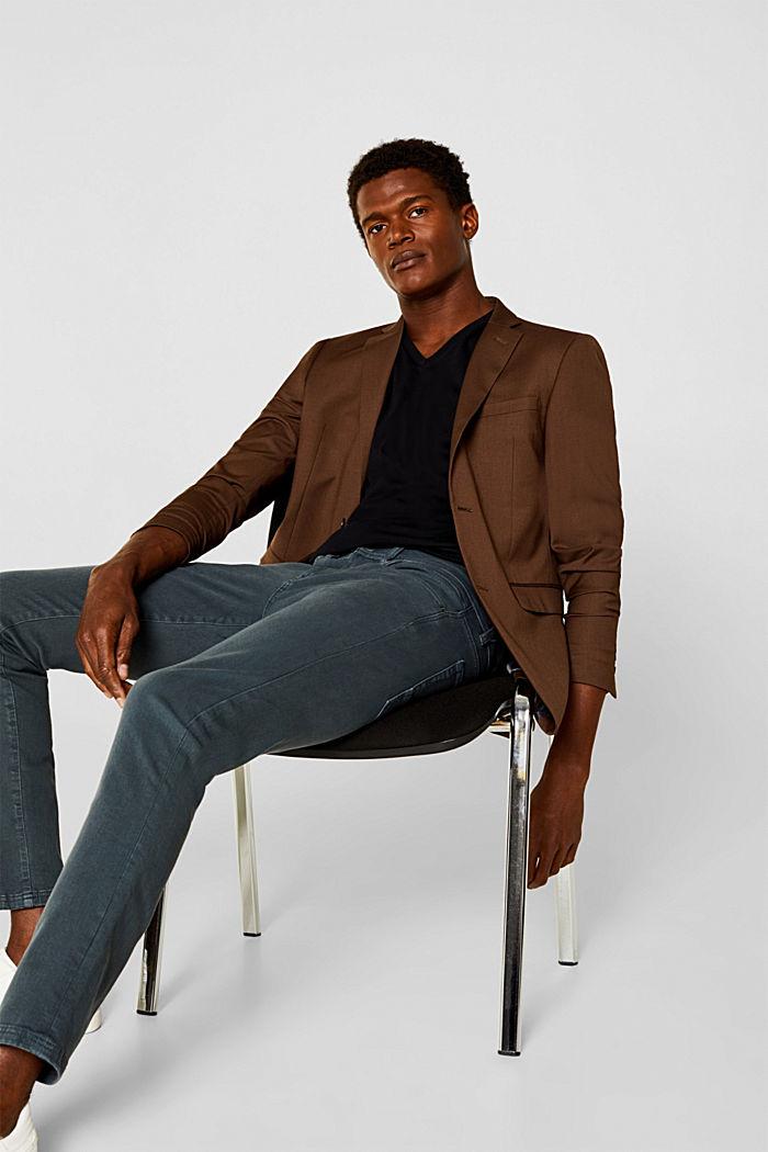 2er-Pack Jersey-Shirt aus 100% Baumwolle, BLACK, detail image number 1